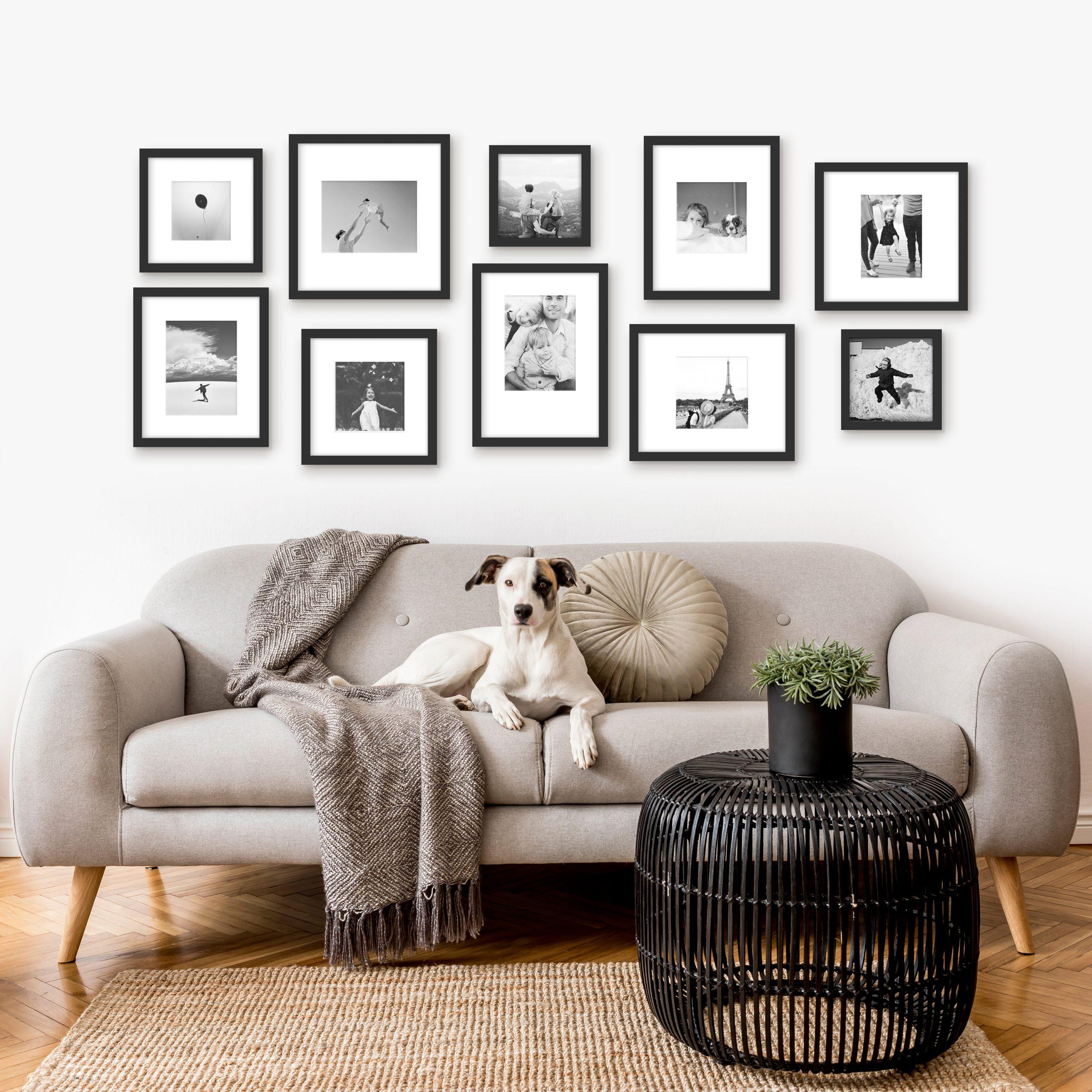 New Gallery Wall Products Framefox framed wall art framing decor styling