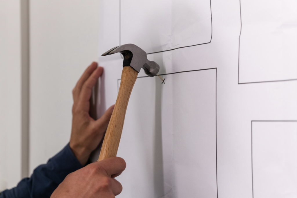 nail How-To Create A Gallery Wall, Easily.