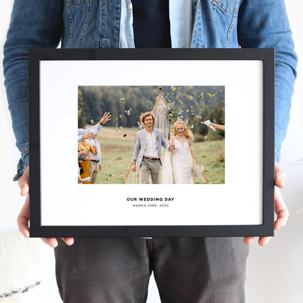 Wedding Caption Frame Picture Frames
